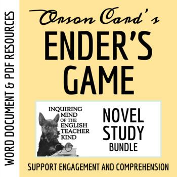 Ender's Game Novel Study Package