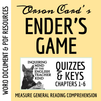 Ender's Game Quiz (Chapters 1-6)