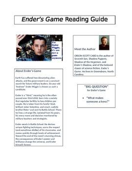 Ender's Game Reading Guide