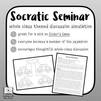 Ender's Game Socratic Seminar