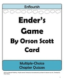 Ender's Game by Orson Scott Card Multiple Choice Chapter Quizzes