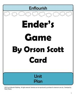 Ender's Game Complete Unit Plan: 200+ Pages of Activities, Quizzes, and More!