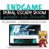 Digital Learning - Endgame Avengers Reading Comprehension