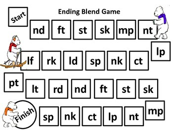 Ending Blend Game Board