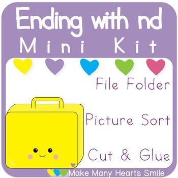 Ending Blend Mini Sorting Kit: -nd  MMHS33