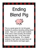 Ending Blend Pig Game