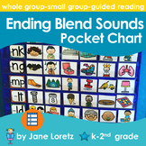 Ending Blend Sounds Pocket Chart
