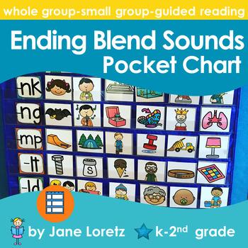 Ending Blend Sounds Pocket Chart