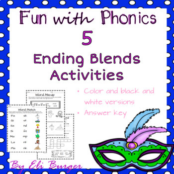 Ending Blends - Fun with Phonics!