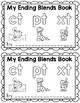 Ending Blends {CT, PT, XT} Writing Book