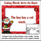 Ending Blends Activities for Christmas