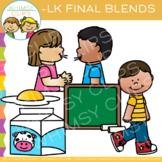 Ending Blends Clip Art - LK Words