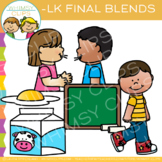 Ending Blends Clip Art - LK Words
