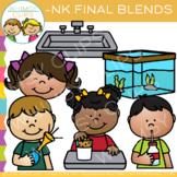 Ending Blends Clip Art - NK Words