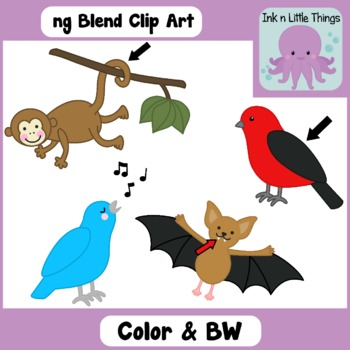 Ending Blends Clip Art: ng Blend clipart