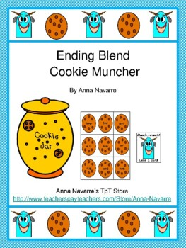 Ending Blends Cookie Muncher Game