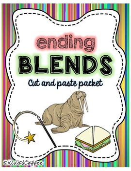 Ending Blends Cut & Paste Packet