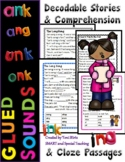 NG & NK Decodable Stories with Comprehension Questions Level 1 Unit 7 (1st grade