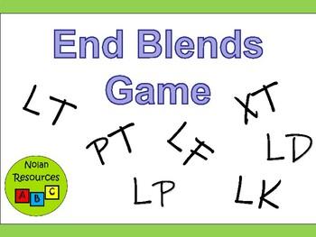 Ending Blends English Language Game