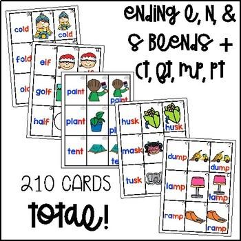 Ending Blends Flashcards