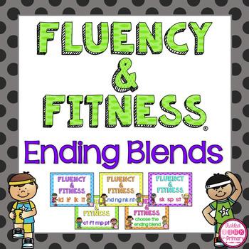 Ending Blends Fluency & Fitness Brain Breaks Bundle