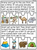 Ending Blends Fluency Puzzles for Reading Comprehension / Retelling / Sequencing