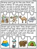 Ending Blends Fluency Puzzles