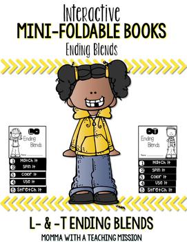 Ending Blends Mini Flip Book Foldable