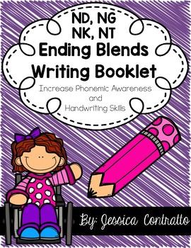 Ending Blends {ND, NG, NK, NT} Writing Book