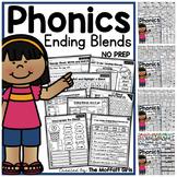 Ending Blends NO PREP Packet