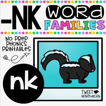 Ending Blends NO PREP Printables (NK)