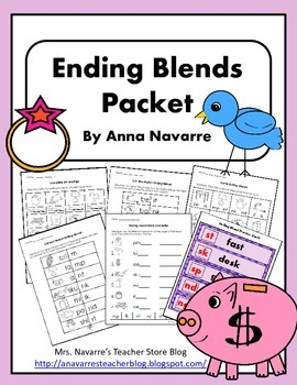 Ending Blends Packet