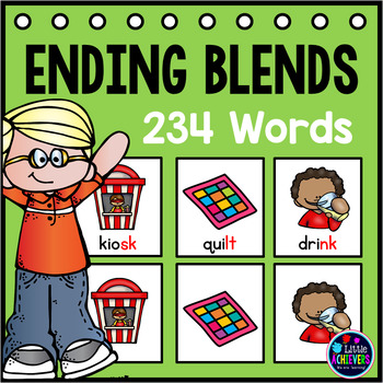 Ending Blends Pocket Charts