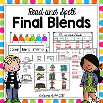 Final Blends - Read & Spell With Short Vowels!