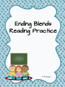 Ending Blends Reading Practice