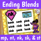 Ending Blends Activities