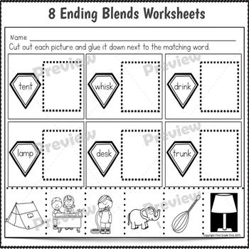 Ending Blends Activities