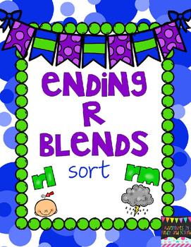 Ending Blends Sort- R blends
