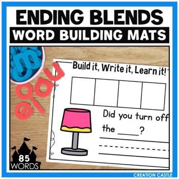 Ending Blends Word Building Mats