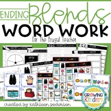 Ending Blends Word Work for the Frugal Teacher