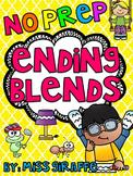Ending Blends Worksheets and Activities (Final Consonant Blends)
