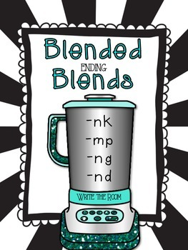 Ending Blends: Write the Room & More