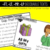 Ending Blends LT LP MP FT Decodable Readers and Passages