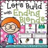Ending Blends Word Work (mp, ld, lf, lt, lk, ft)