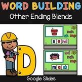 Ending Blends (mp, nch, nd, sk, sp) Word Building - Google Slides
