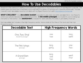 Ending Blends -nd, -nt, -nk and -ng Decodable Readers and Passages