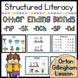 Ending Blends (-sp, -sk, -mp, -nd, -nch) - Orton Gillingham - Google Slides