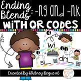 Ending Blends with QR Codes: -ng and -nk