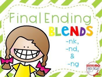 Ending Blends with -nd, -ng, and -nk