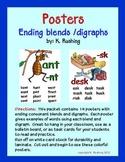 Ending Blends & Digraphs Posters